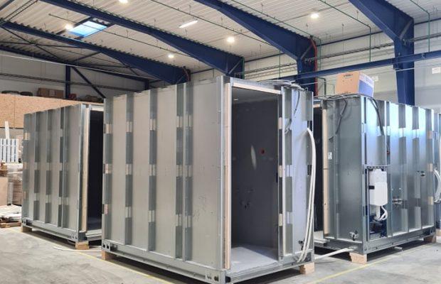 Vonios modulio konstrukcija